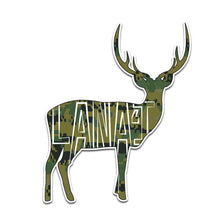 Camo Lanai Deer Sticker