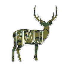 Camo Maui Deer Sticker