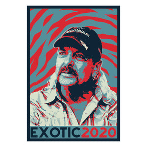 Tiger King Exotic 2020 Sticker