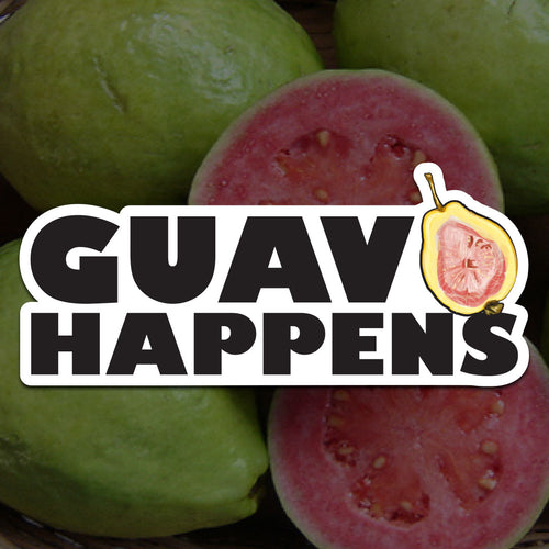 Guava Happens Sticker