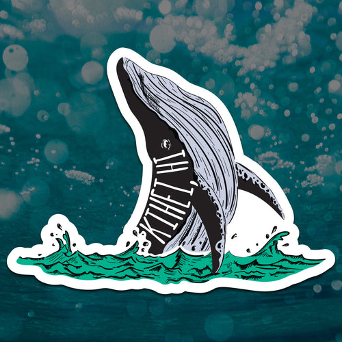 Kihei Humpback Whale Sticker