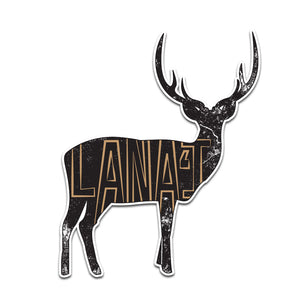 Lanai Deer Sticker