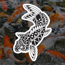 Polynesian Koi Sticker