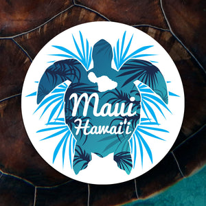 Maui Turtle Sticker