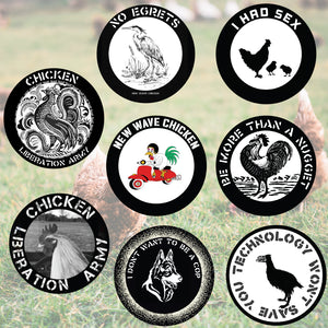New Wave Chicken Sticker Bomb Pack