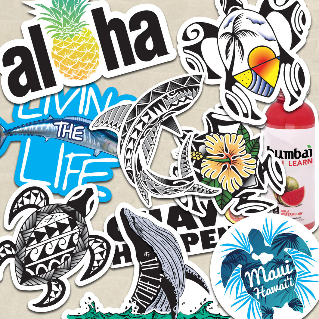 Hawaii Sticker Bomb Pack