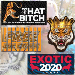 Tiger King Sticker Pack