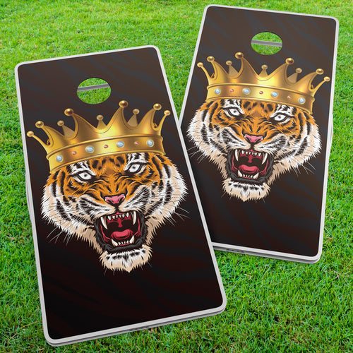 Tiger King Cornhole Wraps