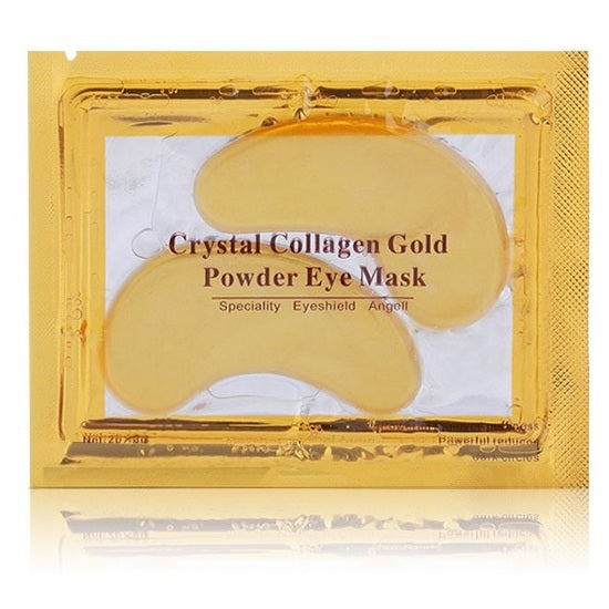 24K Gold Powder Gel Collagen Eye Mask - set of 5