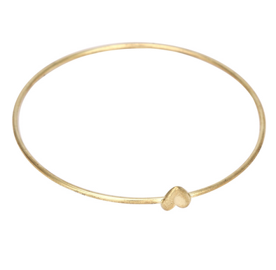 Gold Heart Wish Bracelet