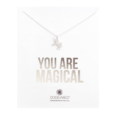 You're Magical Silver Unicorn Necklace