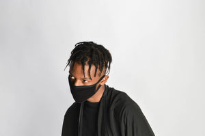 Black Face Mask // fashion ninja zargara mouth mask