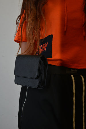 """AUTOBAHN ODYSSEY"" Waist Bag, Zargara Label Fashion, Ottawa, Canada, 179 George st"