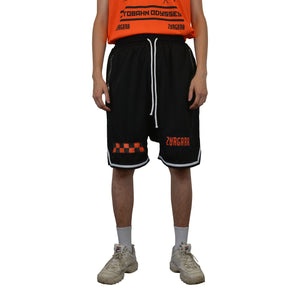 """AUTOBAHN ODYSSEY"" Drop Crotch Basketball Shorts, Zargara Fashion Label, Ottawa, Canada, 179 George St."