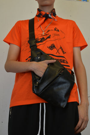 """AUTOBAHN ODYSSEY"" Over the Shoulder Bag, Zargara Label Fashion, Ottawa, Canada, 179 George st"