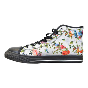 """of Eden"" High Top Sneakers, from fashion label Zargara Season 7: ""Divine Souls of Eden"", Ottawa, Canada"