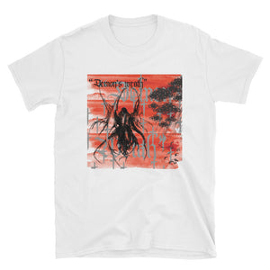 """Demon's Wrath"" White tee from Season 8 ""Inferno: From the Ashes"" by Zargara label"