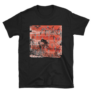 """Fallen Angel"" Black tee from Season 8 ""Inferno: From the Ashes"" by Zargara label"