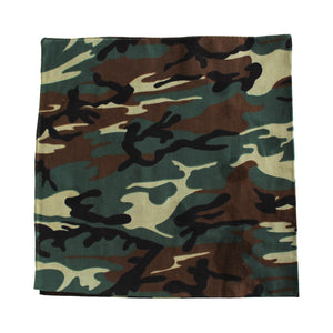 "Zargara ""The Enemy"" Camo Bandana, Ottawa fashion streetwear from Season 6: ""Leave No Man Behind"""