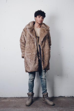 "Zargara ""The Moaner"" Jon Snow Faux Fur Coat (Unisex), Ottawa fashion streetwear from Season 6: ""Leave No Man Behind"""