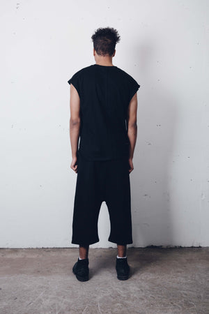 00 Black Tank by Zargara Label