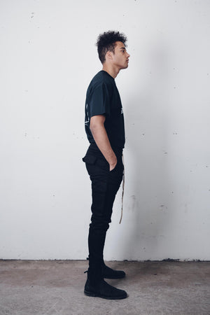 """Dante"" Black Jogger Pants from Season 8 ""Inferno: From the Ashes"" by Zargara label"