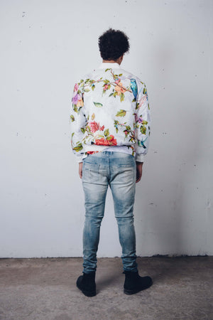 """of Eden"" Bomber Jacket, from fashion label Zargara Season 7: ""Divine Souls of Eden"", Ottawa, Canada"