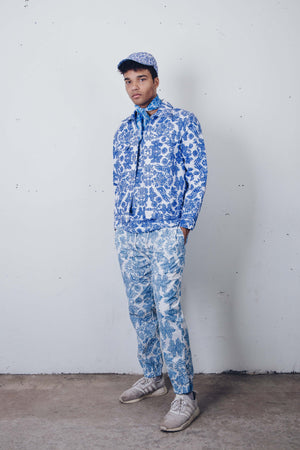 """Fine China"" Track Pants by Zargara Label"