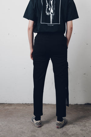 """Black Widow"" 5 Pockets Pants from Season 8 ""Inferno: From the Ashes"" by Zargara label"