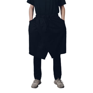 """Black Widow"" Apron-Pants from Season 8 ""Inferno: From the Ashes"" by Zargara label"
