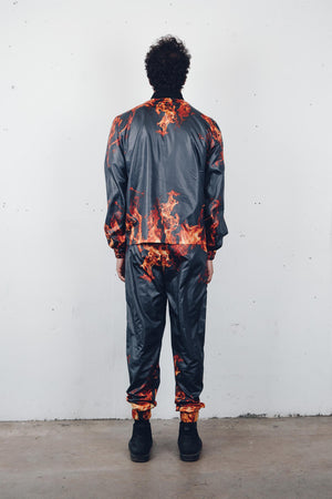 """Sinners"" Track Pants from Season 8 ""Inferno: from the Ashes"" by Zargara Label"