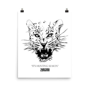 """It's Hunting Season"" Print (8x10 to 24x36), Zargara Poster Print, Ottawa, Canada"