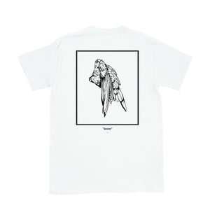 """Beauty"" Zargara Art Tee (Black, White, Grey), Ottawa"