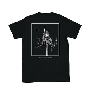 """We Are in a Dreamworld"" Zargara Art Tee (Black, White), Ottawa"