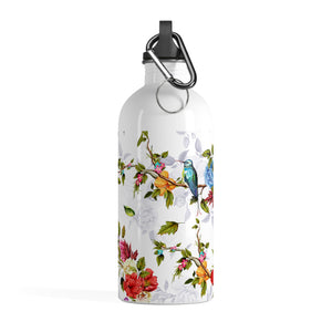 """of Eden"" Stainless Steel Water Bottle, from fashion label Zargara Season 7: ""Divine Souls of Eden"", Ottawa, Canada"