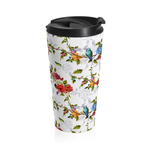 """of Eden"" Stainless Steel Travel Mug, from fashion label Zargara Season 7: ""Divine Souls of Eden"", Ottawa, Canada"