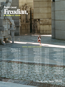 'FREUDIAN, A WORLD TOUR' - POSTER