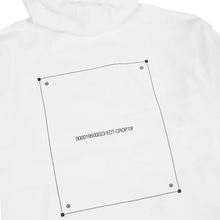 'NO ARTWORK' HOODIE (WHITE)