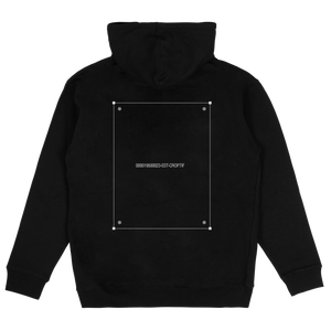 'NO ARTWORK' HOODIE (BLACK)