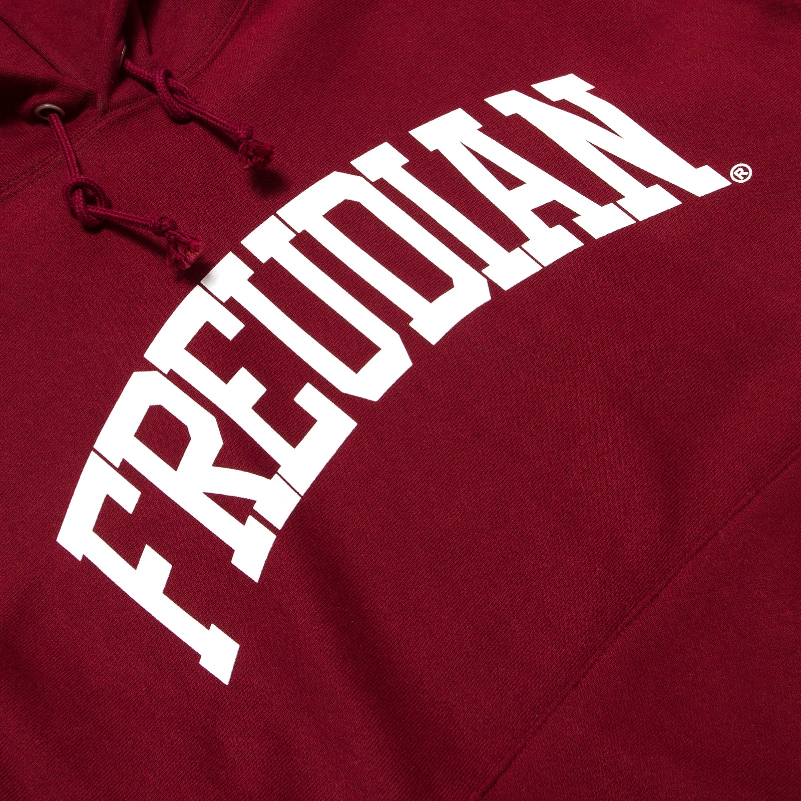 College Dropout Hoodie Burgandy Golden Child Inc