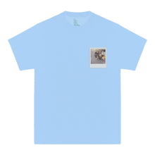 'GLORIA'S FLOWER SHOP' TEE (BABY BLUE)
