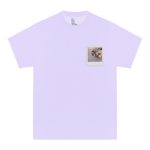 'GLORIA'S FLOWER SHOP' TEE (LAVENDER)