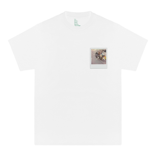 'GLORIA'S FLOWER SHOP' TEE (WHITE)