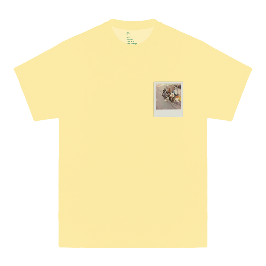 'GLORIA'S FLOWER SHOP' TEE (EASTER YELLOW)