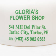 'GLORIA'S FLOWER SHOP' TRUCKER