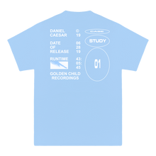 'RUN TIME' TEE (BABY BLUE/WHITE)