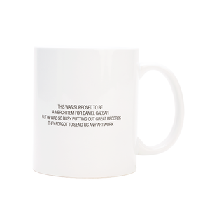 'NO ARTWORK' MUG