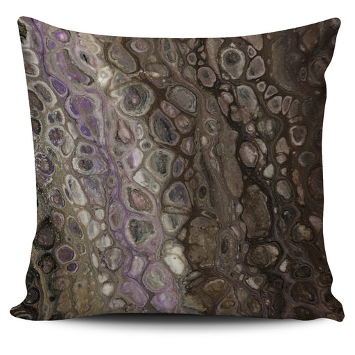 Abstract Textured Pillow Cover