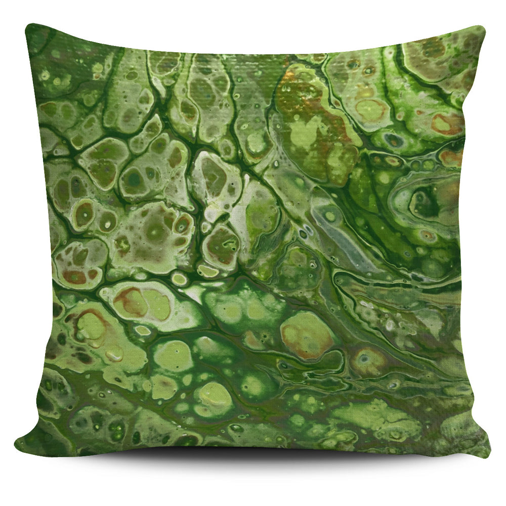 Spring Greens Pillow Cover