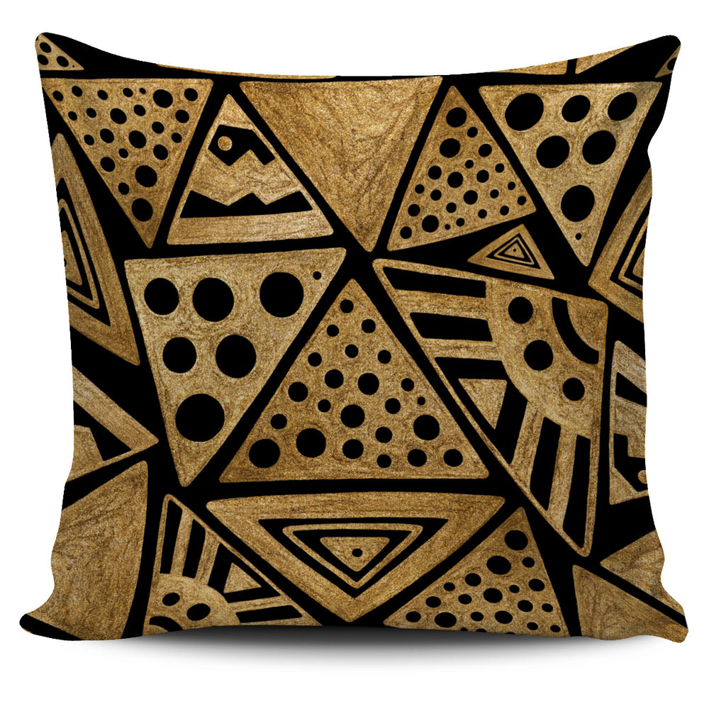 Africa-Inspired Throw Pillow Cover